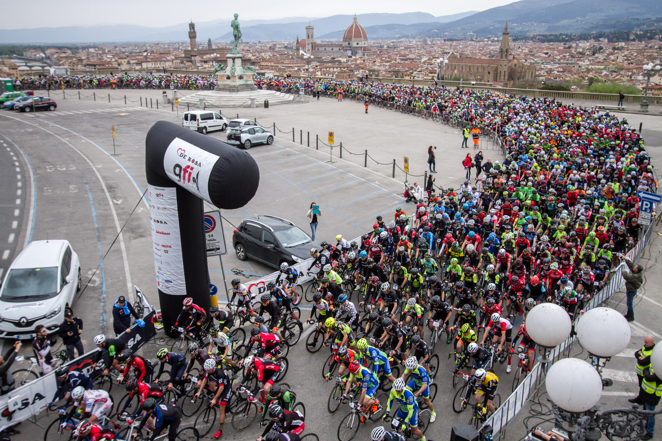 The registrations of the Granfondo Firenze 2019 are open